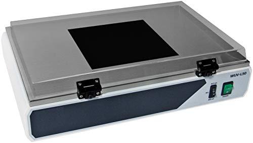 witeg UV transil Luminator Wuv de L10Fácil 365nm, para estándar de dinero okumen de carga y detección de DNA/RNA