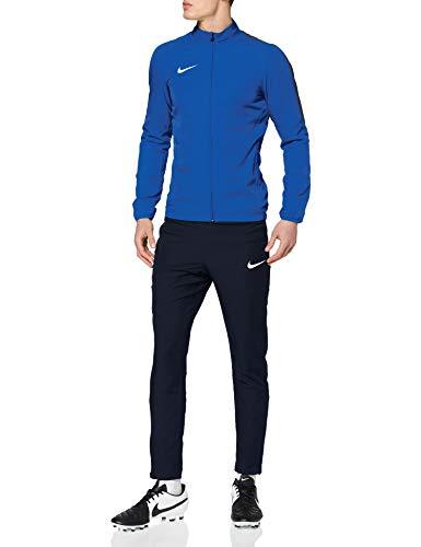 Nike Academy 18 Woven Tracksuit Men's (Royal Blue/Obsidian/White, S)
