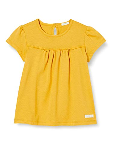 United Colors of Benetton Baby-Mädchen T-Shirt Pullunder, Gelb (Mineral Yellow 10k), 68