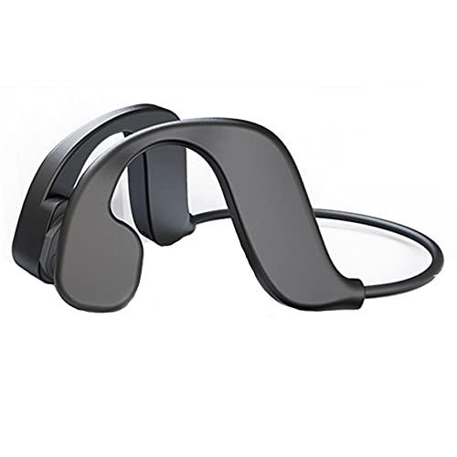 RSGK Cuffie da Nuoto per Lettore MP3, Trasmissione a conduzione ossea, Chip Bluetooth 5.0, IPX8 Impermeabile Sport Running Fitness 32G Memory Bluetooth Headset