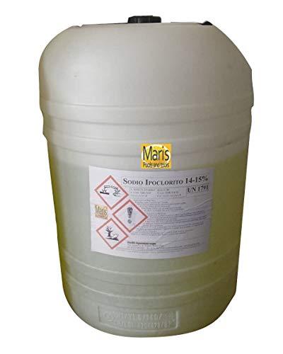 Cloro Piscine ipoclorito sodio kg 50 Maris