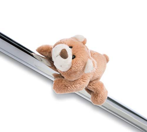 Nici 44461 Kuscheltier mit Magnet Daddy-Bär 12cm MagNICI, BRAUN