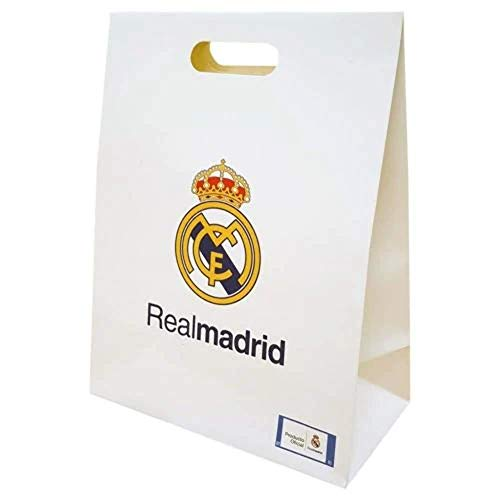 Bolsa Regalo Grande Real Madrid Blanca
