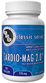 Cardio-Mag 770mg Magnesium Orotate (120 Vegi-Capsules) Cardiomag Magnesium Taurate Alternative Brand: A.O.R Advanced Ortho...