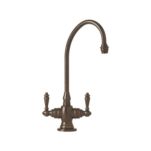 Why Choose Waterstone 1500-TB Hampton Suite Bar Faucet with Double Lever Handles, Tuscan Brass, 1-Pa...