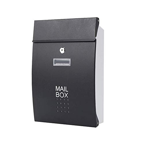 Afsluitbare mailbox Mailbox Brievenbus Post Box Home Aanbiedingen Steel metalen Gegalvaniseerd Europese stijl villa buiten waterdicht Regendicht Household Silencer pad Roestvrij staal mailbox