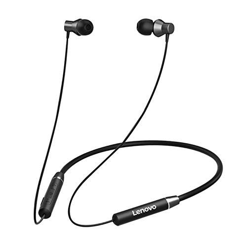 Drahtlose Kopfhörer Bluetooth-Hörunterdrückung Headset Bluetooth-Headset Original Lenovo HE05 Wireless Magnetic Sport Kopfhörer Bluetooth Headset Ohrhörer