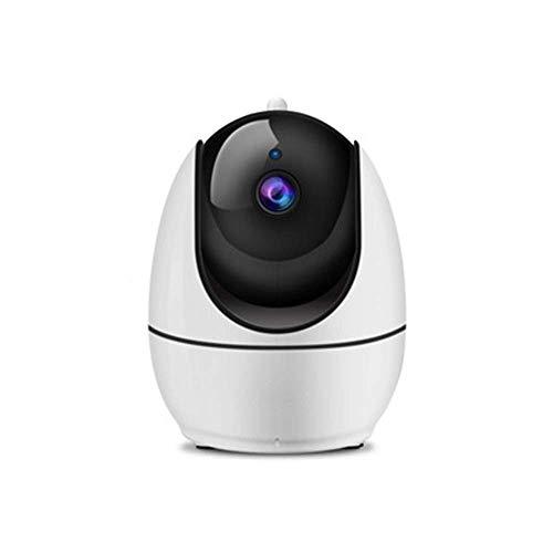 Cámara de vigilancia WiFi HD, cámara de red inalámbrica, rotación de 355 ° / 90 °, con detección de movimiento, audio bidireccional, visión nocturna, admite 4 configuraciones for el área del sub-escud