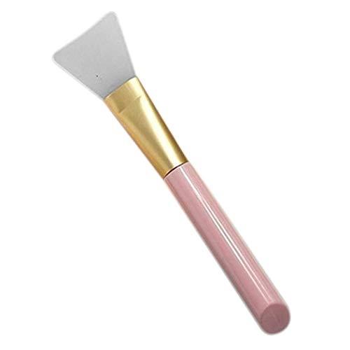 Brosse de maquillage Set Beauté 1 Pièce Silicone Masque Visage Brosse Masque Visage Boue Maquillage Pinceau Correcteur Brosse (Couleur: Bleu) Cosmétiques Set Brosses (Color : Pink)