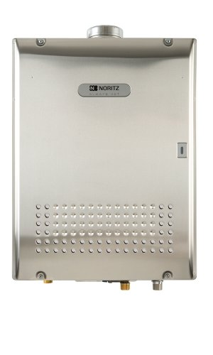 Noritz NCC1991-ODNG 199,900 BTU Commercial Condensing Tankless Water Heater with Outdoor Mounted, Natural Gas