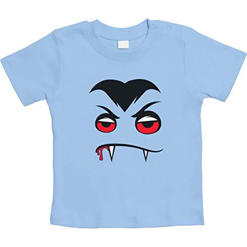 Halloween babykostuum - Angry Dracula unisex baby T-shirt maat 66-93