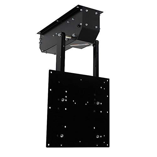 pushMIDI - TV Deckenhalterung elektrisch schwenkbar, klappbar, neigbar - für bis 65 Zoll Fernseher bis 30 Kg - Monitor Halter für Decke VESA bis 400x400 mm