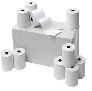 Pack 8 Rollos Papel Termico S//BPA Medidas 57x55x12mm