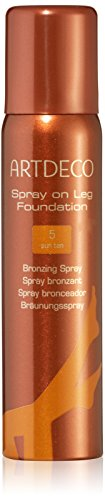 Artdeco Tan femme/woman, Spray on Leg Foundation Nummer 5 Sun tan, 1er Pack (1 x 100 ml)