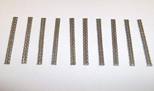 Greenhills Micro Scalextric & Slot Car Tinned Copper Pick Up Braids / Brushes x 10 - New - G2144