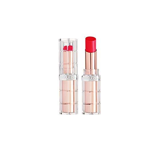 L'Oréal Paris Color Riche Plump & Shine 102 Watermelon Plump, Lippenstift mit Menthol-Extrakt für einen aufpolsternden und frischen Effekt, 4,3g