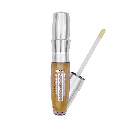 Allbesta Lipgloss Enthält Ingwer Saft Würzig Lippen Enhancer Vergrößerer Sperren Sie das Öl das befeuchtet Extrem Feuchtigkeitsspendend