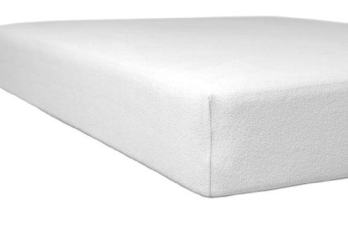 Kneer Spannbettlaken, Baumwoll-Mischgewebe, Weiß, 120 cm x 200 cm