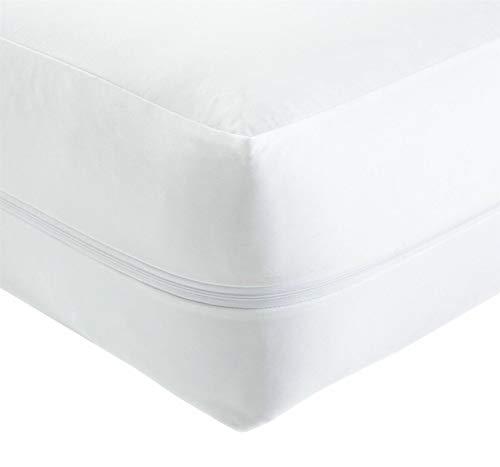 GoldStar Anti Bed Bug Zipped Waterproof Mattress Protector Total Encasement Cover 30cm deep (Double)
