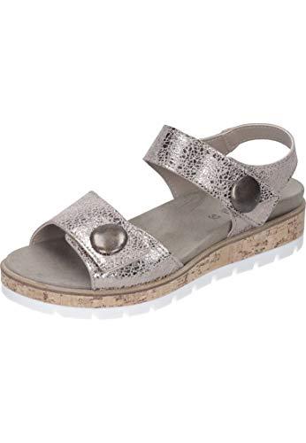 Comfortabel Damen-Sandale G rosa, Color piel (nude), 6 US