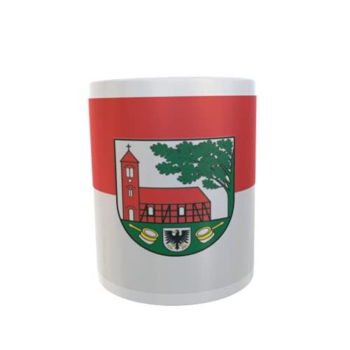 U24 Tasse Kaffeebecher Mug Cup Flagge Gardelegen OT Peckfritz
