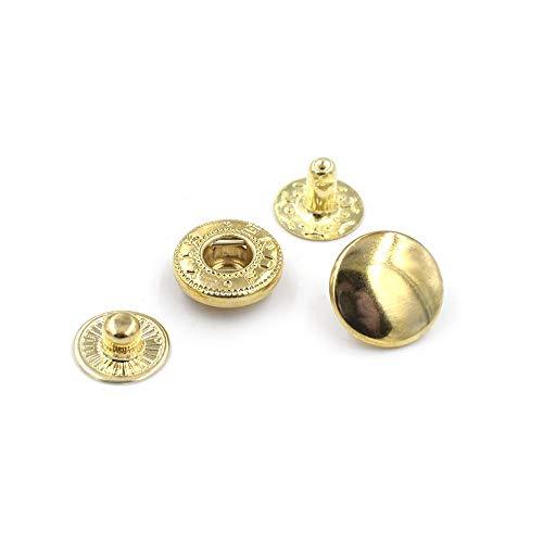 ZNYD 500 Conjuntos/Snap lot15mm Metal.Botones de sujeción, Remache, T8 T5 T3 Encaje Botones de la Chaqueta Ropa y Accesorios.Costura de broches de presión de reparación