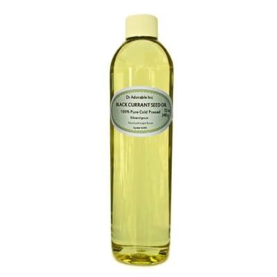 Black Currant Oil - 15% GLA Organic 100% Pure Cold Pressed 12 Oz