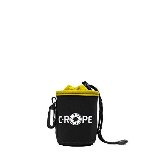 C-Rope Neopren Objektivbeutel mit Fleece-Fütterung als Schutz für Objektive oder Kamerazubehör, Größe XS
