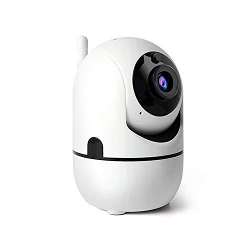 1080p Cámara de vigilancia doméstica inalámbrica para interiores Monitoreo Cámara de seguridad automática Red WiFi Teléfono celular Control remoto de limpieza Artefacto ipc - Blanco