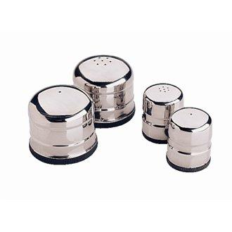 Stalwart P044 Jumbo Zout En Peper Set, 60 mm x 70 mm Diameter