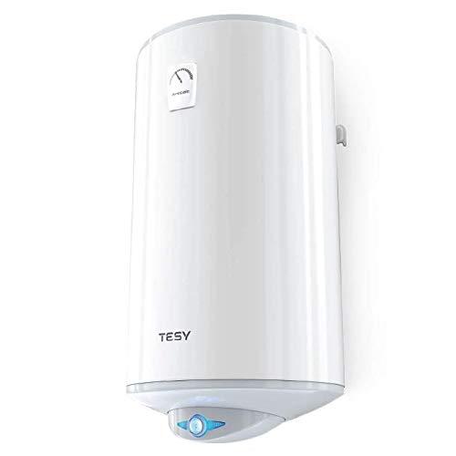 TESY Anticalc - Termo de Agua Eléctrico Reversible de 80 Litros con Resistencias Envainadas de Doble Potencia.