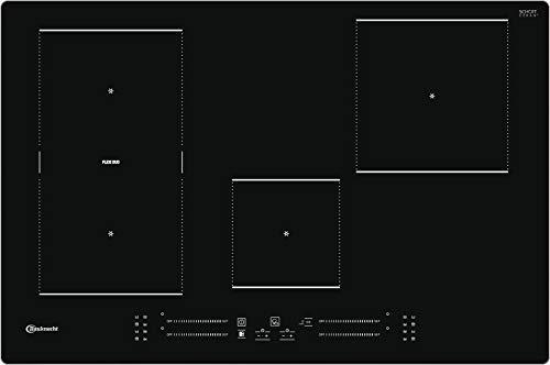 Bauknecht Induktions-Kochfeld BS 2677C AL / 77 cm/Flexi Zone/Booster/Automatik Funktionen/Timer/Schmelzstufe/Restwärmeanzeige