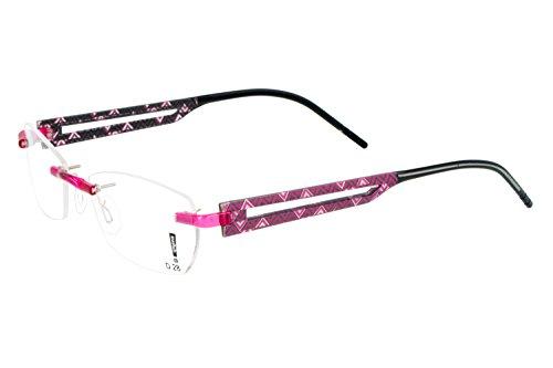switch it Garnitur Combi 2332 Wechselbügel Montur in der Farbe pink-grau, innen grau-schwarz