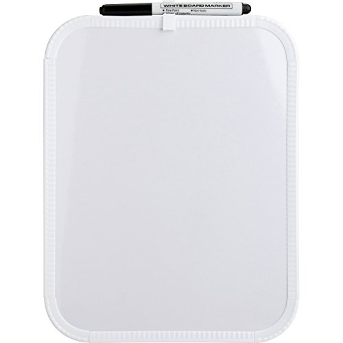 Sparco 75620 Dry-Erase Board, White, 8.5 x 11 Inch