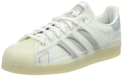 adidas Superstar FUTURESHELL, Zapatillas Deportivas Hombre, FTWR White Core Black Bright Blue, 43 1/3 EU