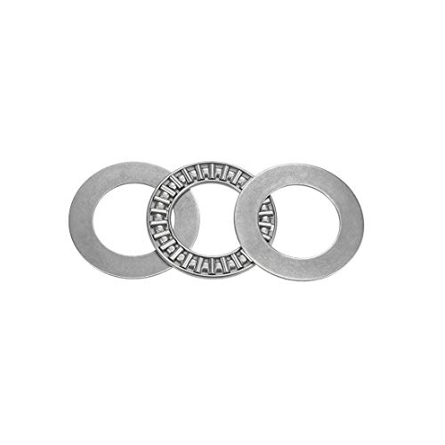 uxcell NTA1423 Thrust Needle Roller Bearings with Washers 7/8' Bore 1-7/16' OD 5/64' Width