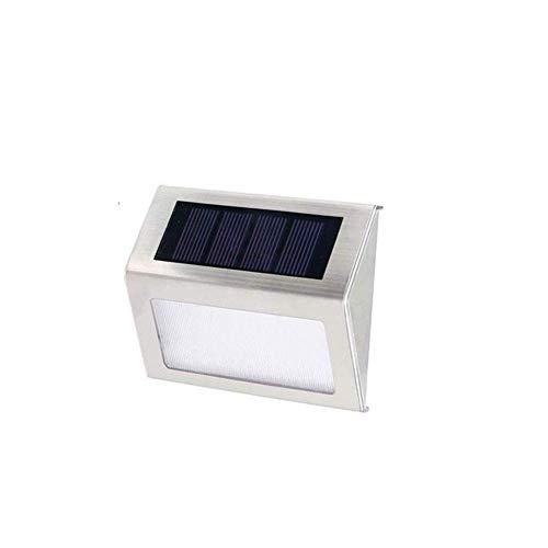 Solar Led Tuinverlichting Solar Lampen Zonne-energie Beveiliging Licht Zonne-energie Veiligheid Verlichting Solar Waterdichte Wandlamp 1pc,warm