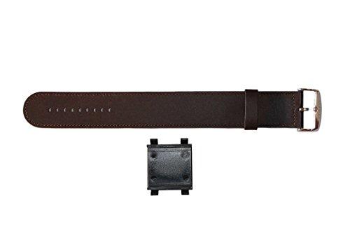 S.T.A.M.P.S. 2210–Armbanduhr Unisex, Lederband