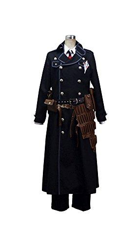 Cosonsen AO No Exorcist Yukio Okumura Cosplay Costume Full Set with Accessory Custom Made (Women M)