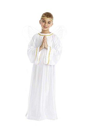 DISFRAZ ANGEL TALLA 10-12 AÑOS TAMAÑO INFANTIL