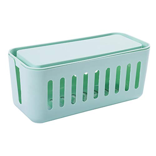 Menlang Caja para cables, caja organizadora de cables eléctricos 31 x 14...
