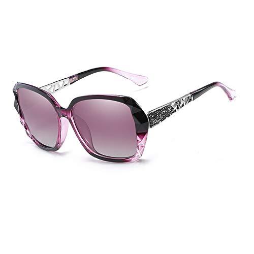 NBJSL Gafas De Sol Para Mujer, Gafas De Sol Con Forma Polarizada Con Protección Uv, Gafas De Sol Retro (Caja De Embalaje Exquisita)