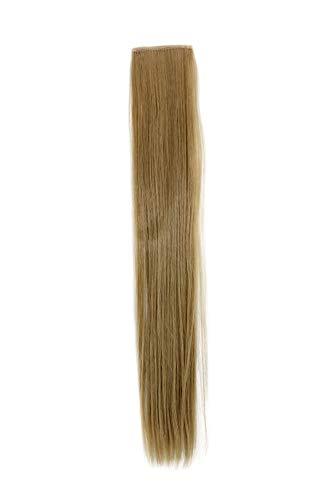 2 Clips Extension avec mèches lisses, blond clair cendré YZF-P2S18-24 45cm/ 18inch Extension capillaire postiche Teinte: 24