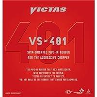 ヤマト卓球 VICTAS(ヴィクタス) 裏ソフトラバー VS>401 020271 レッド 1.5