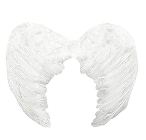 DXBVS Angel Wings Feather Cosplay Halloween Party Costumes Feather...