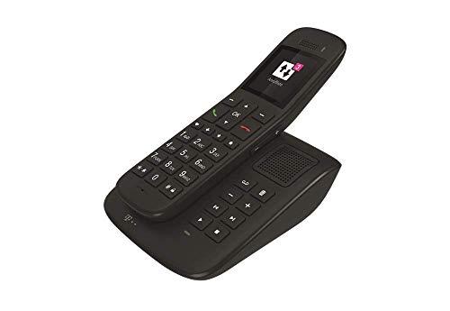 Telekom Sinus A32 mit Basis und Anrufbeantworter Ebenholz