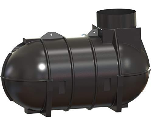 Rotationsvertrieb Gera GmbH & Co.KG Regenwassertank Zisterne 2100 L mit Anschlüssen
