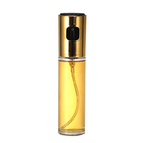 Pulverizador de aceite de oliva para cocinar Vidrio versátil Botella de aceite Vinagre Botella de vidrio Botella de vidrio para la cocina Horneado Asar a la parrilla Dispensador de pulverizador de ace