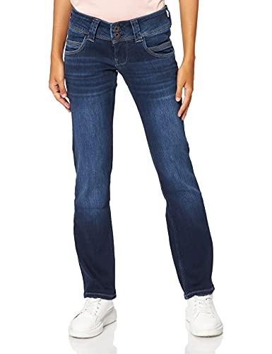 Pepe Jeans Damen Venus Jeans, Denim, 30W Regulär