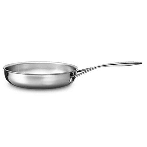 KitchenAid Bratpfanne, Edelstahl, Silber, 30 cm